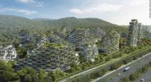 Headbang China y su ciudad cubierta totalmente de árboles