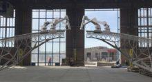 Headbang La tecnología rebasa a la realidad, Robots construyen puentes en Amsterdam