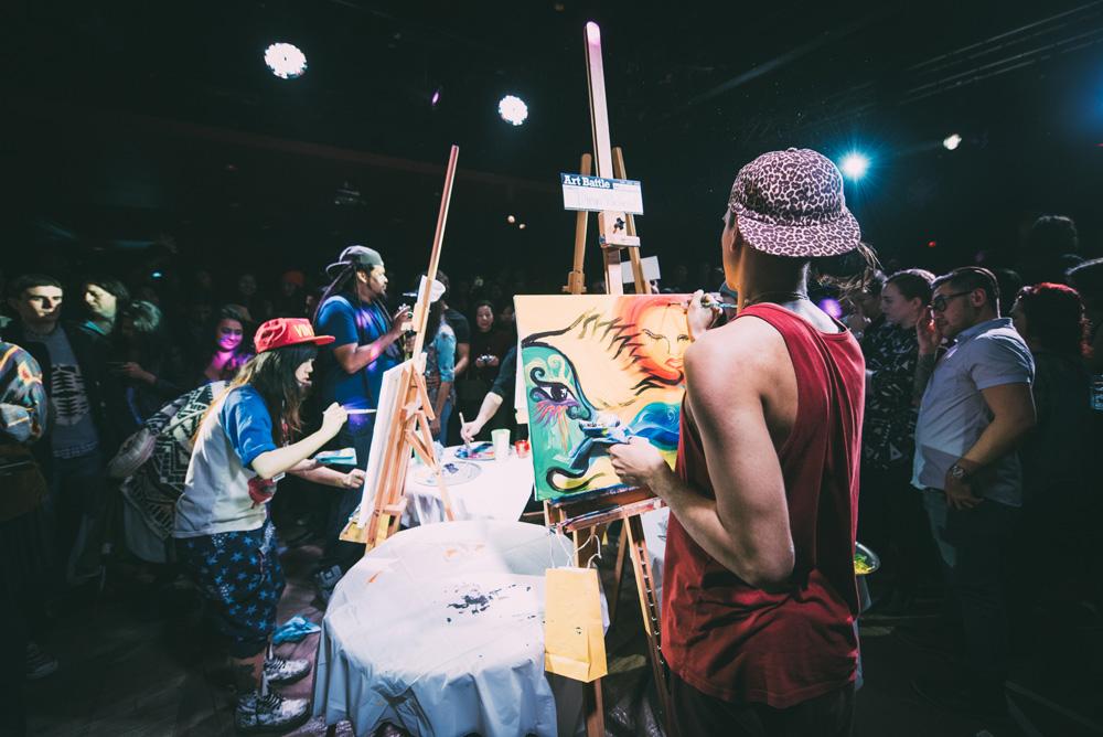 La competencia de artistas callejeros más cool