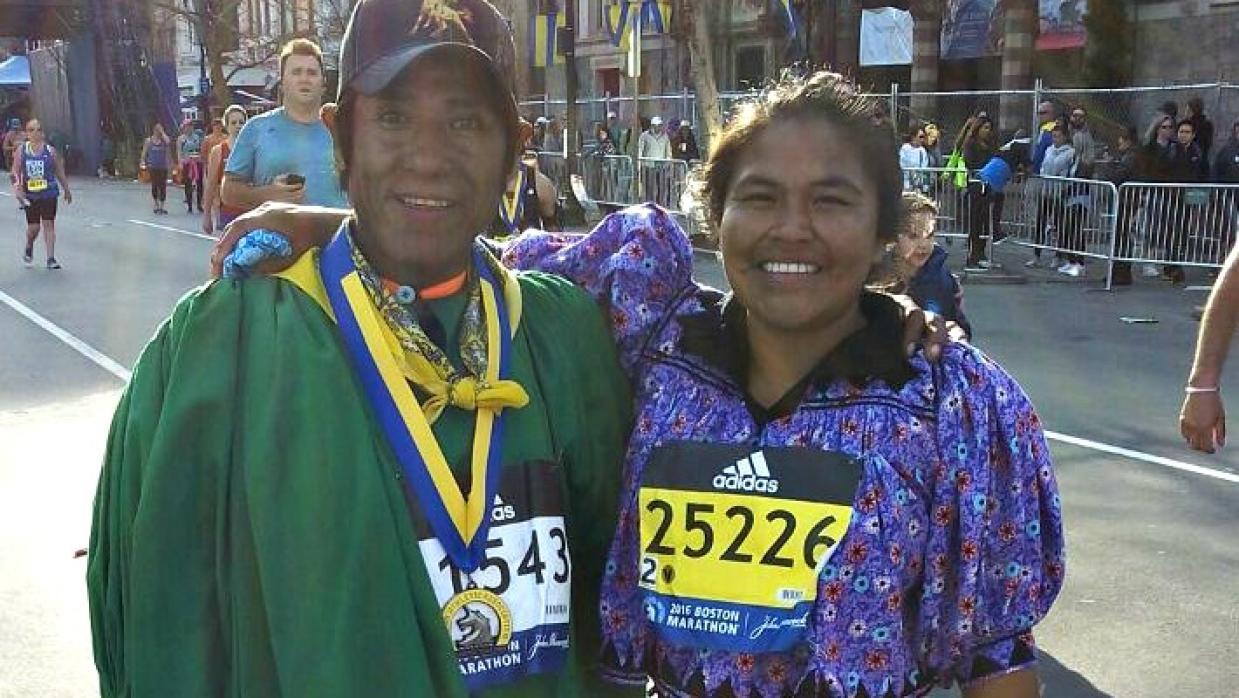 Maratón de Boston a huarache, la historia de Arnulfo Quimare