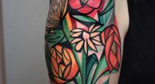 Headbang Tatuajes cubistas, ¿arte o moda?