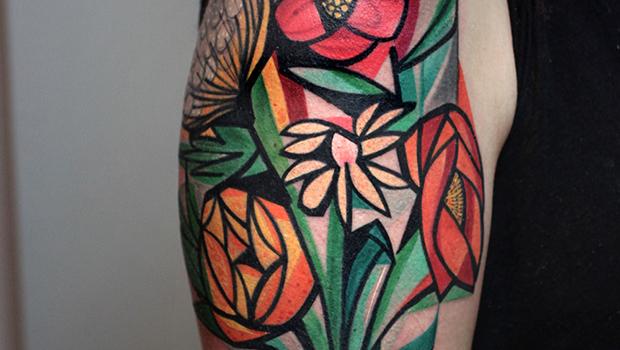 Tatuajes cubistas, ¿arte o moda?