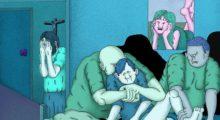 Headbang Alex Jenkin y sus ilustraciones ácidas
