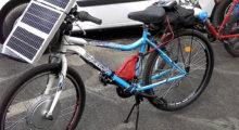 Headbang Bicicletas de páneles solares