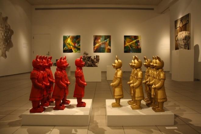 Checa estas divertidas esculturas pop de la artista Lizabeth Rossof