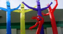 Headbang El origen de los muñecos inflables para publicidad