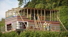 Headbang La única casa hecha 100% con piezas LEGO, tomó más de 4 años para lograr