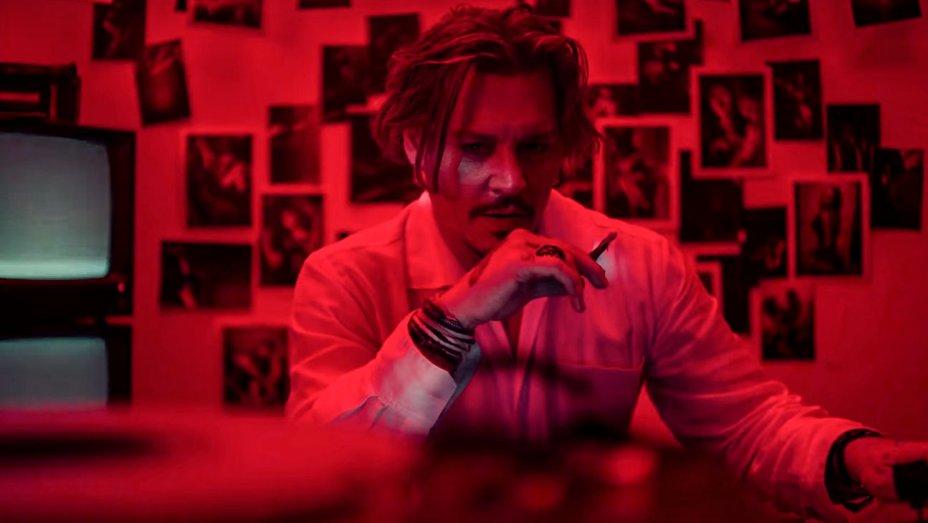 "Johnny Depp + Marilyn Manson = su Video Sexual del tema ""Kill4me"""