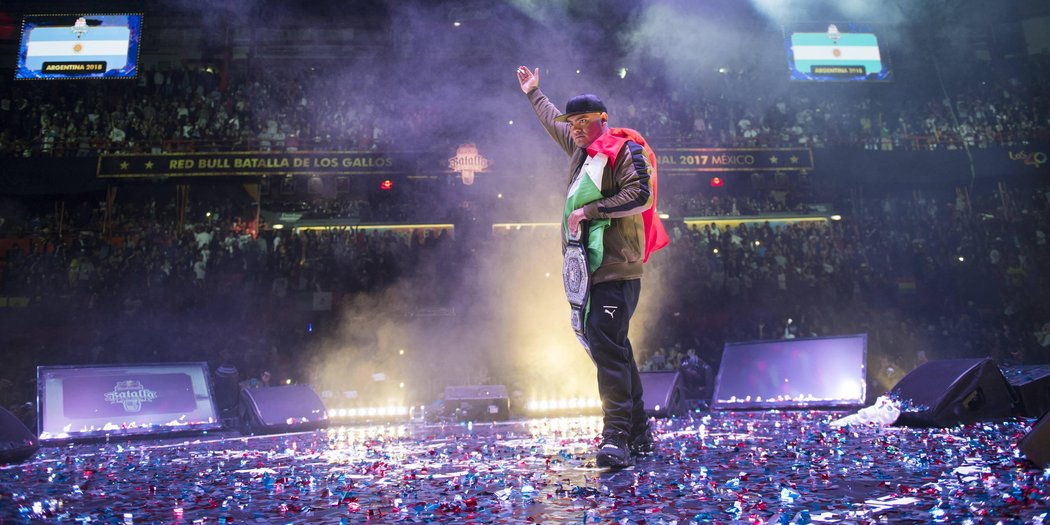México se corona en la Final Internacional de Red Bull Batalla de Gallos 2017