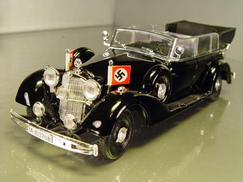El Mercedes Benz de Hitler está a la venta ¿lo comprarías?