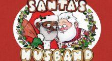 Headbang La polémica del Papá Noel afroamericano, gay y  casado  que está reventando esta Navidad