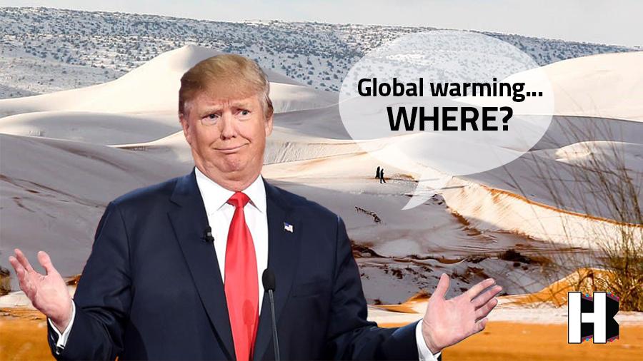Nieve en el desierto del Sahara, no es un sueño es una realidad