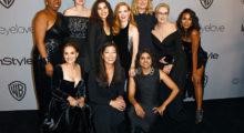 Headbang Esta es la noble razón por la que todos los famosos se vistieron de negro en los Golden Globes
