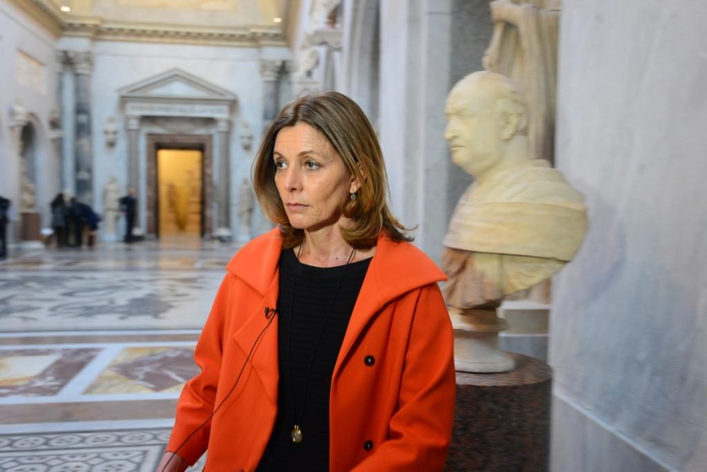 Conoce a Barbara Jatta, la mujer que hizo historia en el Vaticano