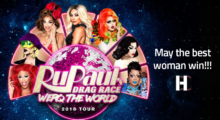 Headbang RuPaul se presenta en México en unos días. Dont Fuck It Up!!!
