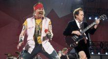 Headbang Axl Rose y AC/DC grabaran disco inédito