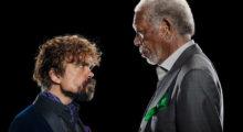 Headbang Este comercial de Morgan Freeman y Peter Dinklage es lo mejor que veras en la semana