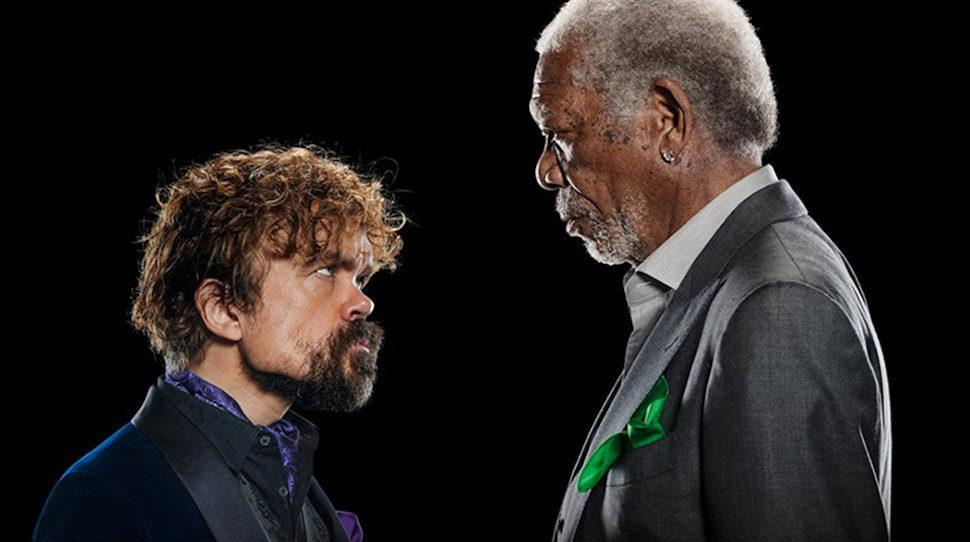 Este comercial de Morgan Freeman y Peter Dinklage es lo mejor que veras en la semana