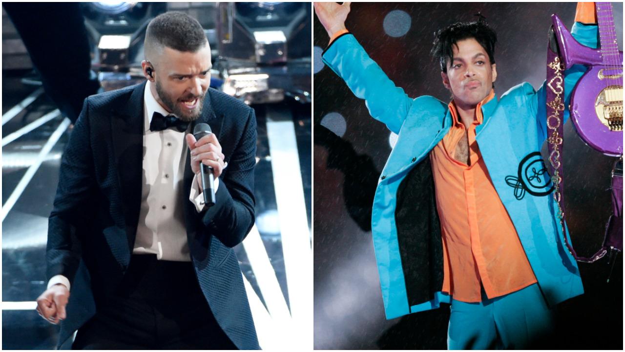 Homenaje a Prince, la salvada de Justin Timberlake en el medio tiempo del Super Bowl