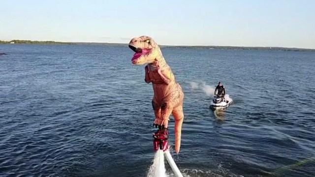 Las mejores apariciones en internet de este T Rex