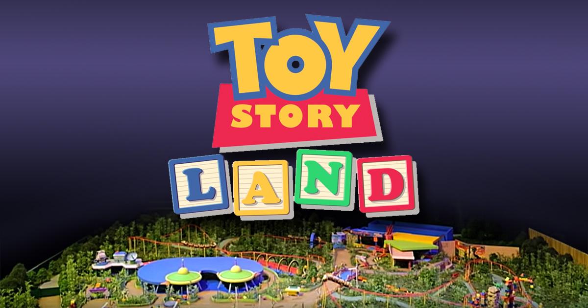 Disney estrena parque temático de Toy Story