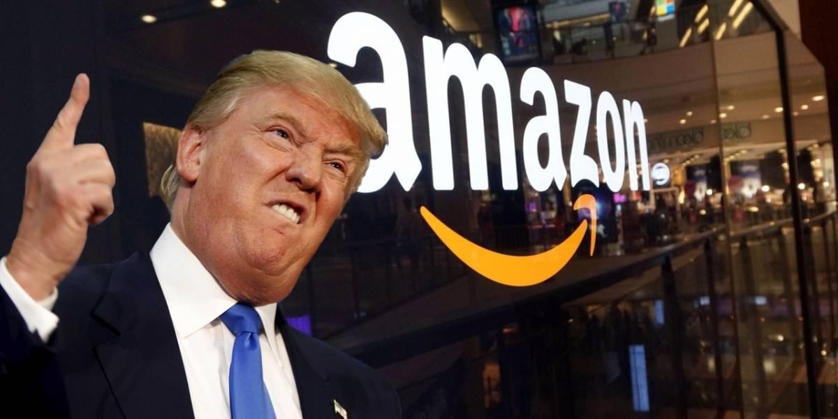 Trump declara la guerra a Amazon y se pondrá intensa