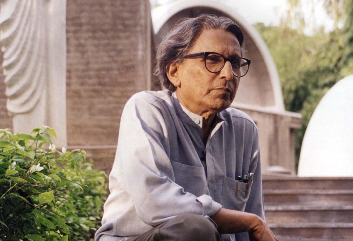"""Balkrishna Doshi, el innovador nobel de """"arquitectura"""""""