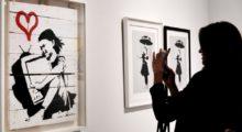 Headbang Abren expo del artista urbano Banksy y el mundo del arte se escandaliza