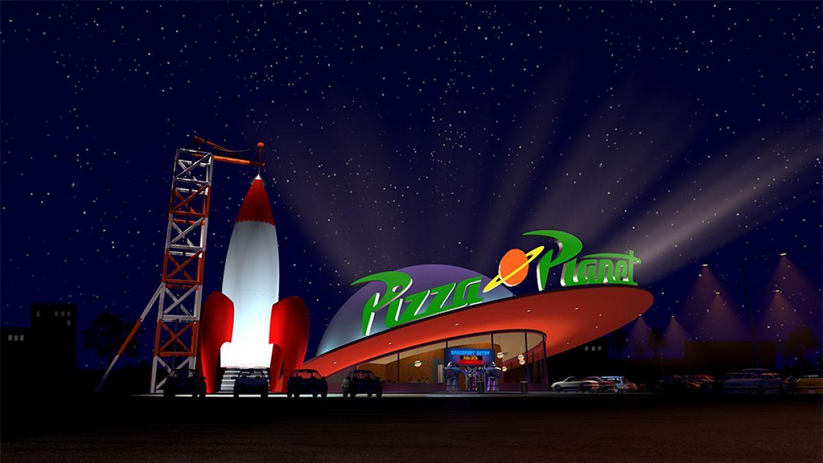 Abrirán un Pizza Planeta el mítico restaurante de Toy Story