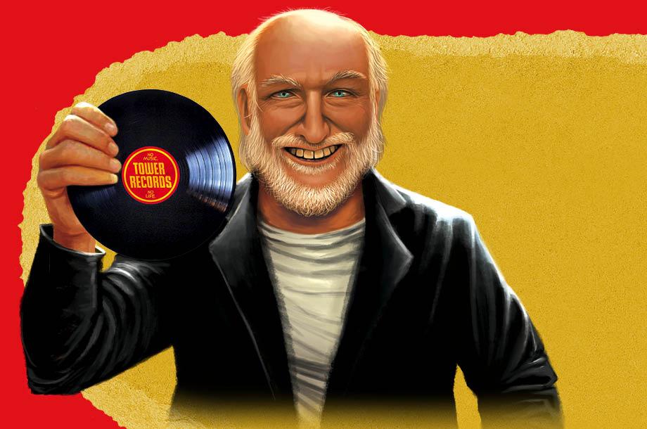 Russell Solomon, el hombre detrás del imperio de los discos