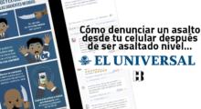 Headbang El Universal hizo un manual para ser asaltado y así reaccionó la red