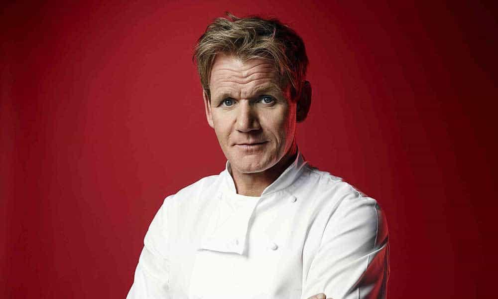 Gordon Ramsay dejará la carne y ahora solo comerá verduras