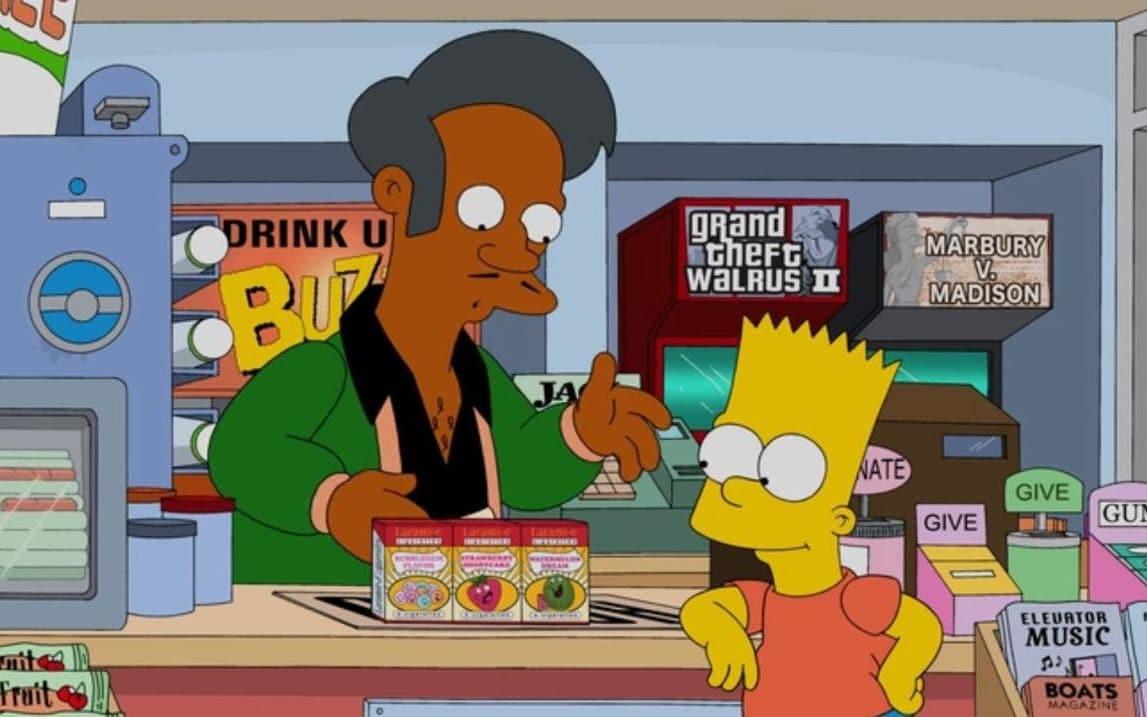 Apu le dice a Los Simpson por esta razón