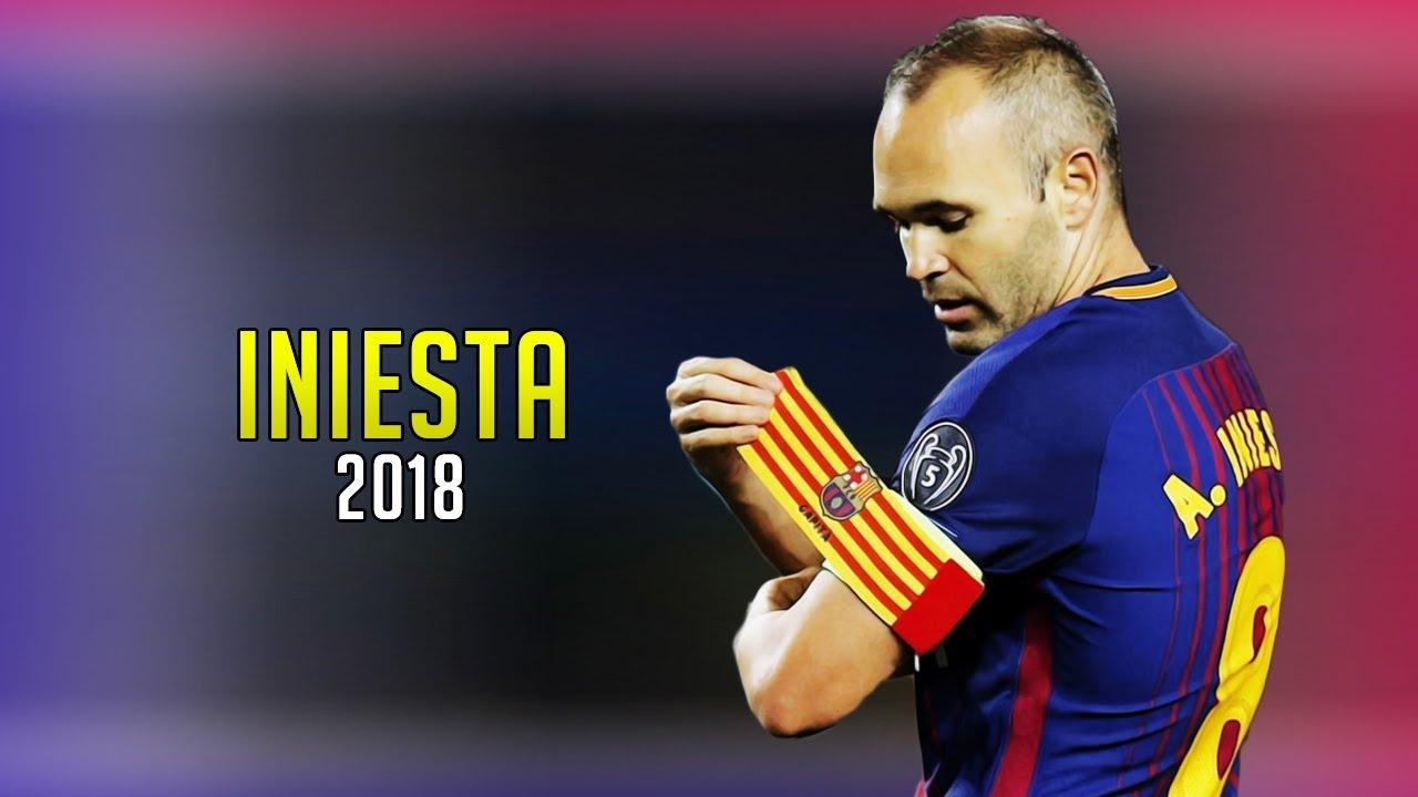 Después de dos décadas, Iniesta se retira del FC Barcelona